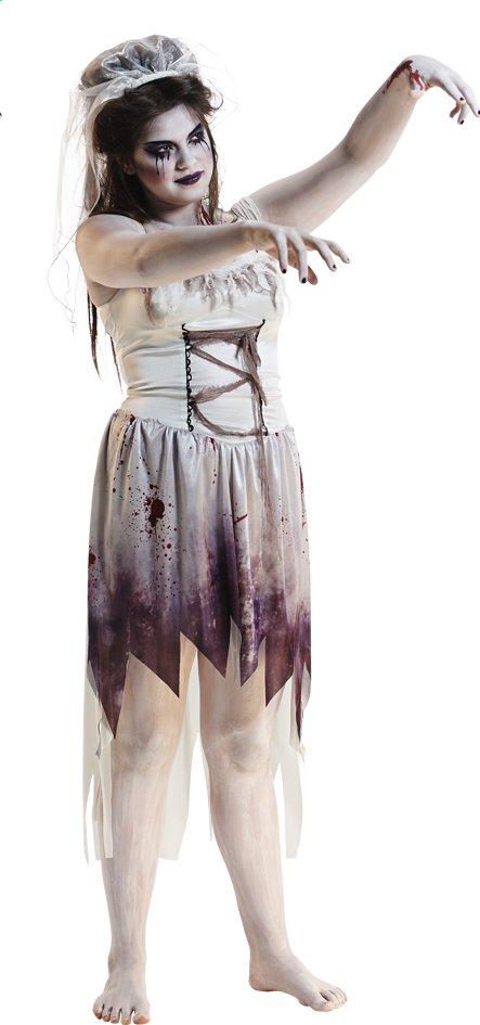 Image pour Déguisement de mariée zombie taille 42 à partir de ColliShop