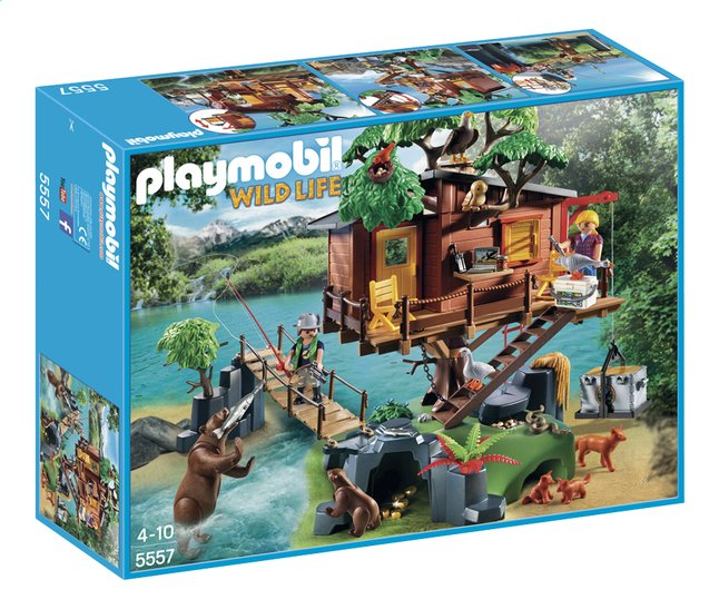 Image pour Playmobil Wild Life 5557 Cabane des aventuriers dans les arbres à partir de ColliShop