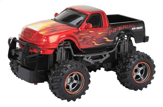 Afbeelding van New Bright auto RC Monster Truck Dragons Pick up rood from ColliShop