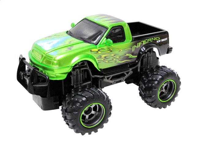 Afbeelding van New Bright auto RC Monster Truck Dragons Pick up groen from ColliShop