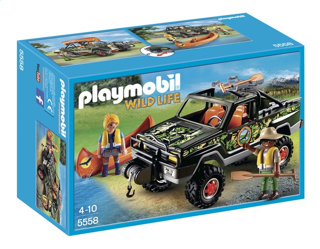 Afbeelding van Playmobil Wild Life 5558 Pickup 4x4 from ColliShop