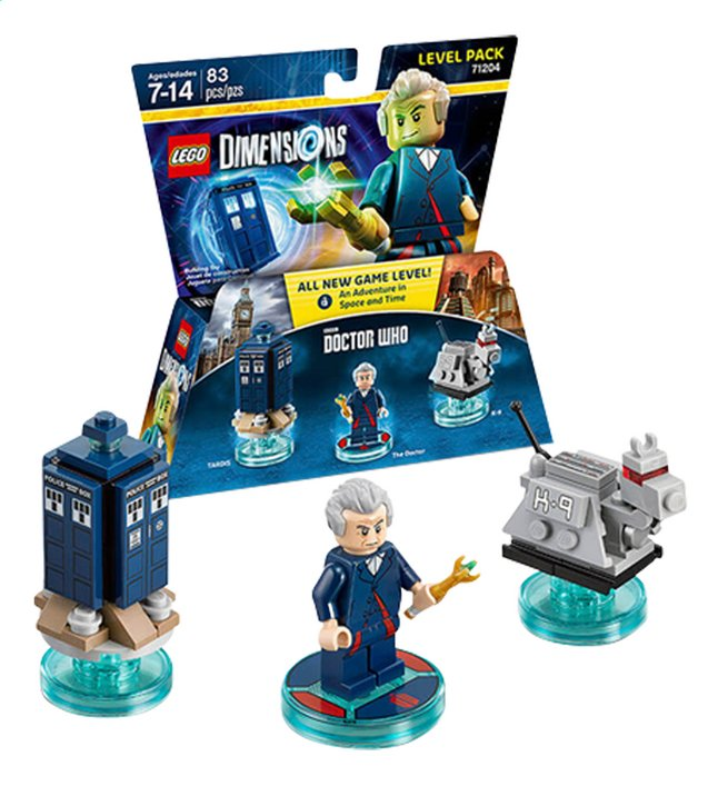 Afbeelding van LEGO Dimensions figuur Level Pack 71204 Doctor Who from ColliShop
