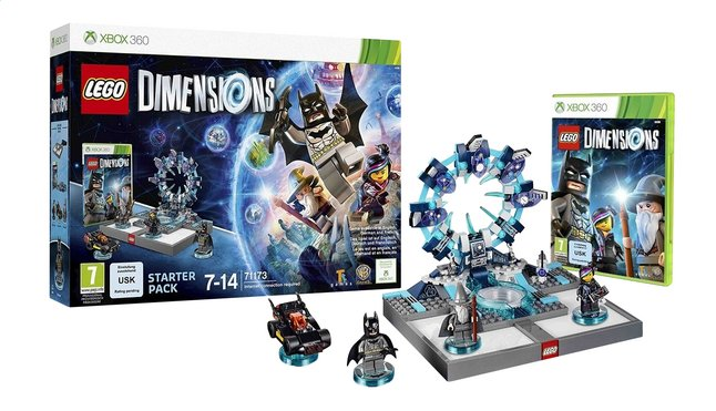 Afbeelding van XBOX 360 LEGO Dimensions Starter Pack FR from ColliShop