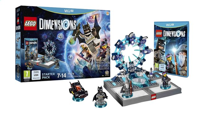 Afbeelding van Wii U LEGO Dimensions Starter Pack NL from ColliShop