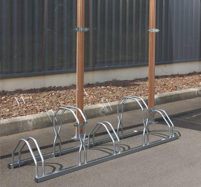 Afbeelding van Mottez fietsenrek voor 5 fietsen hoog/laag from ColliShop
