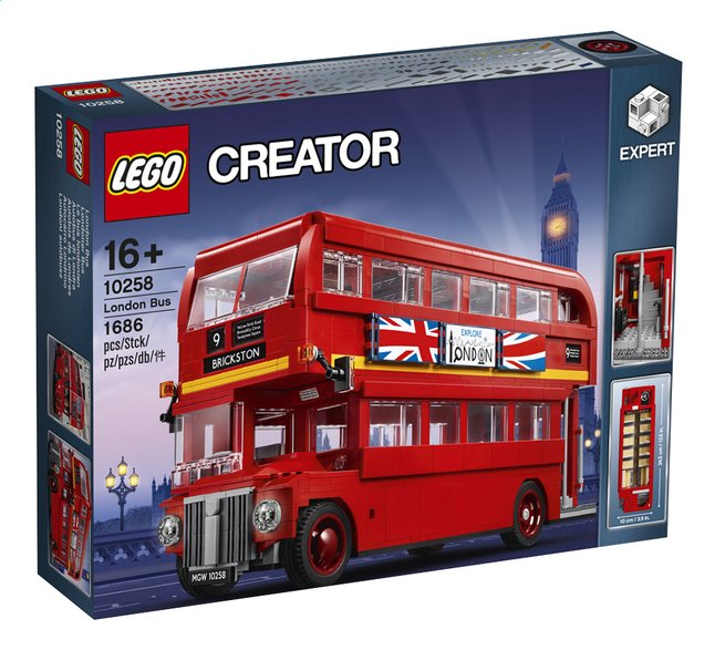 Afbeelding van LEGO Creator 10258 London Bus from ColliShop