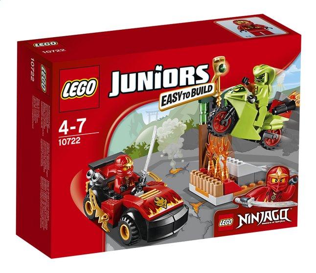 Image pour LEGO Juniors 10722 L'attaque du serpent Ninjago à partir de ColliShop