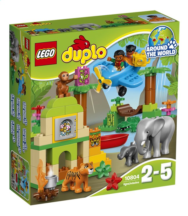 Image pour LEGO DUPLO 10804 La jungle à partir de ColliShop