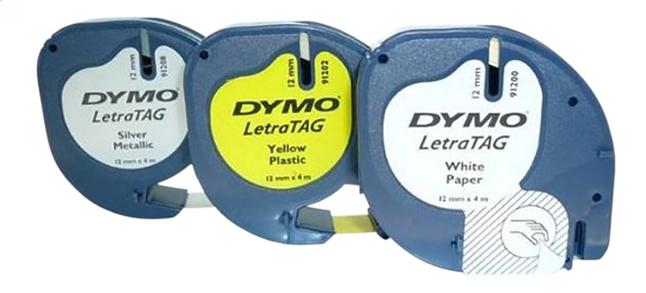 Image pour Dymo recharge pour étiqueteuse Letratag kit de démarrage - 3 pièces à partir de ColliShop