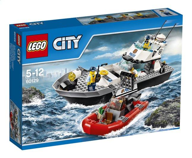 Image pour LEGO City 60129 Le bateau de patrouille de la police à partir de ColliShop