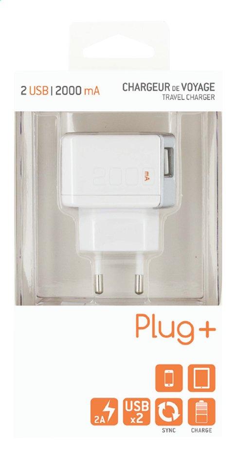 Image pour Chargeur pour tablettes et smartphones avec 2 connexions USB à partir de ColliShop