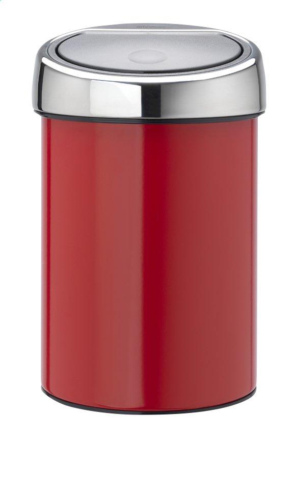 Image pour Brabantia Poubelle Touch Bin passion red 3 l à partir de ColliShop