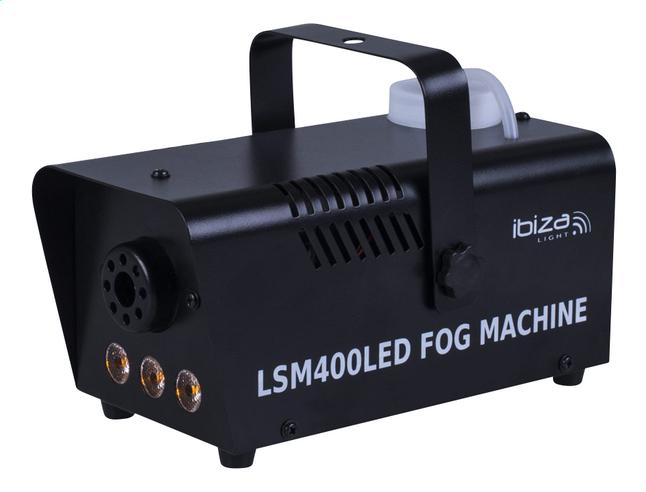 Afbeelding van ibiza rookmachine met LED LSM400LED-BK from ColliShop