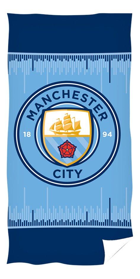 Afbeelding van Strandlaken Manchester City blauw 70x140 cm from ColliShop