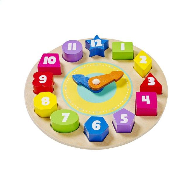 Image pour DreamLand trieur de formes Horloge en bois à partir de ColliShop