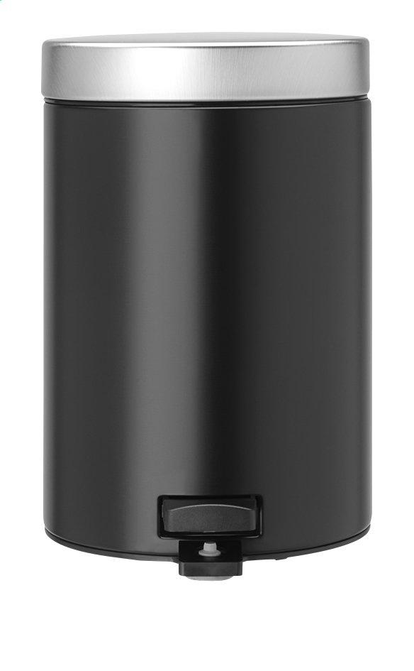 Image pour Brabantia Poubelle à pédale Classic matt black 3 l à partir de ColliShop
