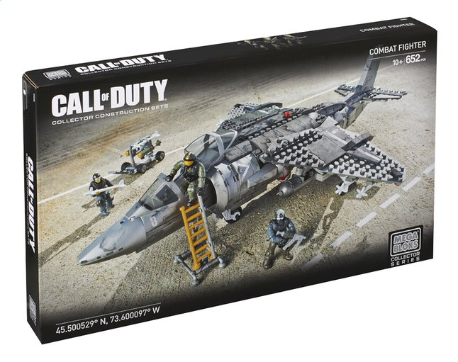 Afbeelding van Mega Bloks Vliegtuig Call of Duty Combat Fighter from ColliShop