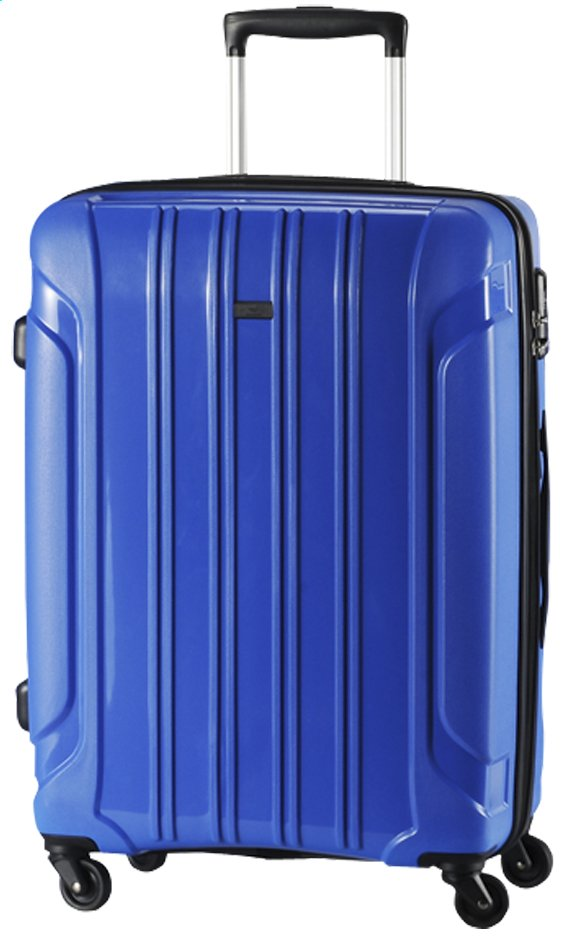 Afbeelding van Travelite Harde reistrolley Colosso Spinner blauw 76 cm from ColliShop