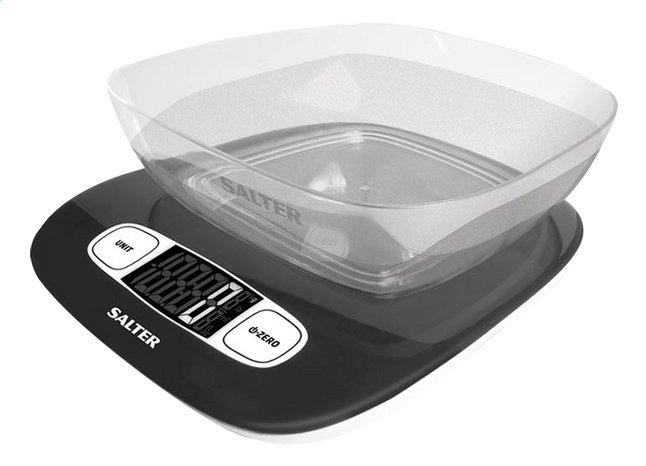 Afbeelding van Salter Digitale keukenweegschaal met mengkom SA1073 zwart from ColliShop