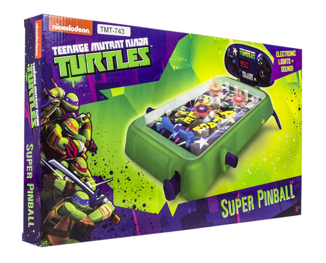Afbeelding van Flipperkast Teenage Mutant Ninja Turtles Super Pinball from ColliShop