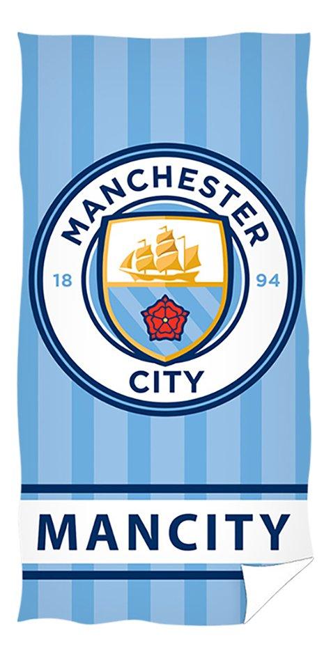 Drap de plage Manchester City 70 x 140 cm