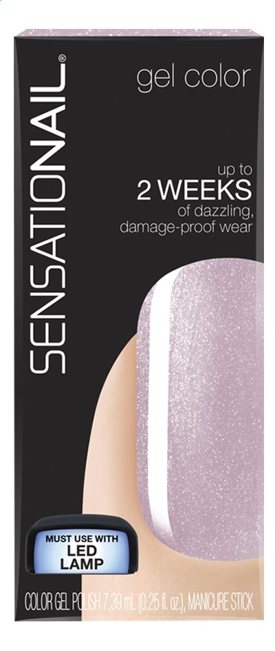 Afbeelding van SensatioNail Gel Polish lavish lilac from ColliShop