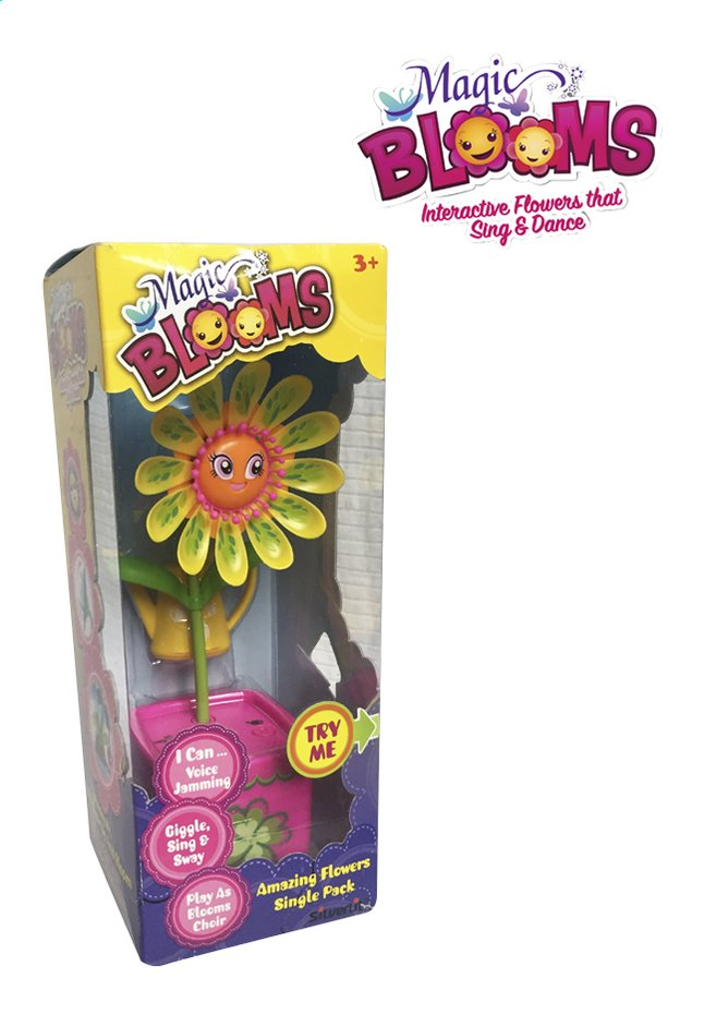 Afbeelding van Silverlit Magic BLOOMS Single Flower roze from ColliShop