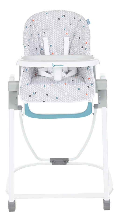 Image pour Badabulle Chaise haute gris à partir de ColliShop