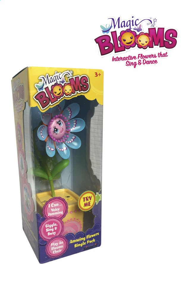 Afbeelding van Silverlit Magic BLOOMS Single Flower geel from ColliShop
