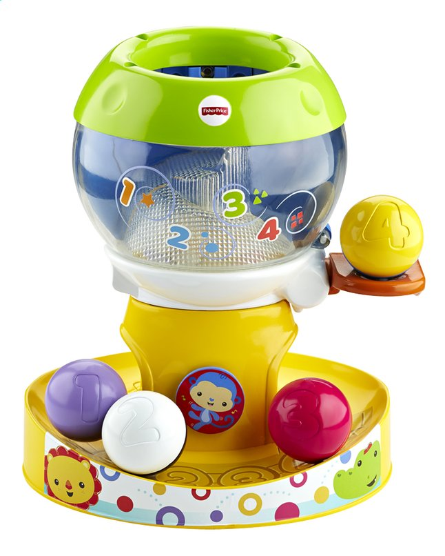 Afbeelding van Fisher-Price Silly Safari Swirl'n Tunes Gumball from ColliShop
