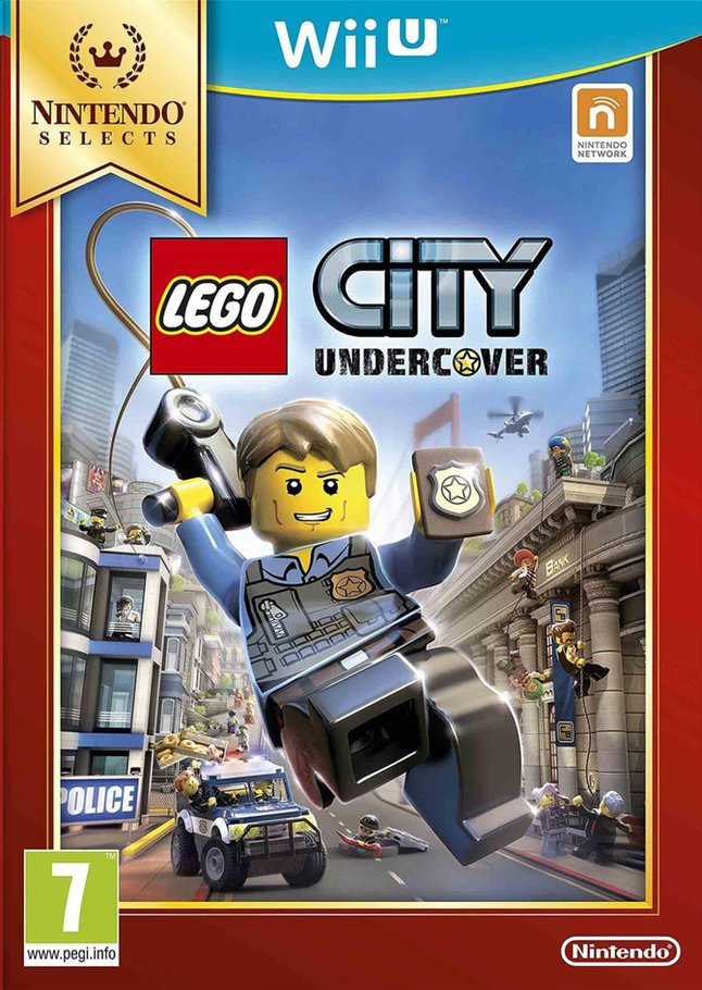 Afbeelding van Nintendo Wii U LEGO City Undercover Selects ENG from ColliShop