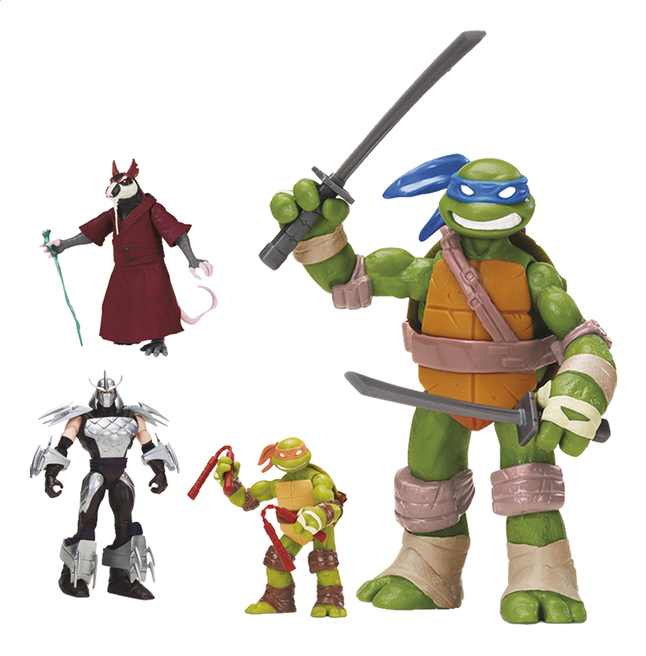Afbeelding van Set 4 figuren Ninja Turtles from ColliShop