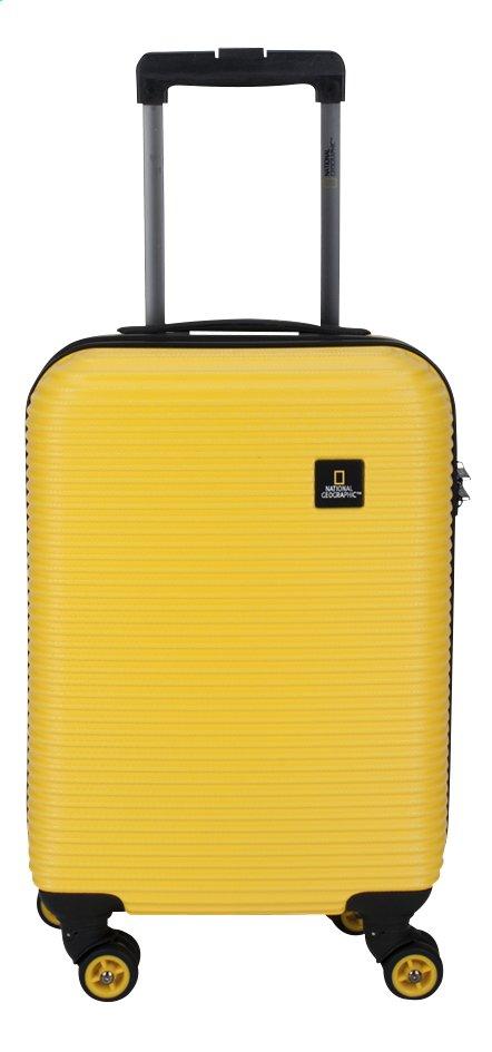 Afbeelding van National Geographic Harde reistrolley Abroad Spinner geel 55 cm from ColliShop