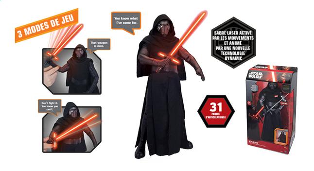 Afbeelding van Interactieve figuur Star Wars Kylo Ren from ColliShop
