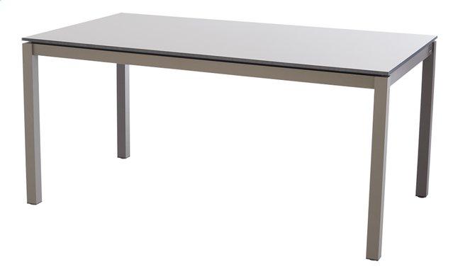 Image pour Jati & Kebon table de jardin Djerba taupe 160 x 90 cm à partir de ColliShop