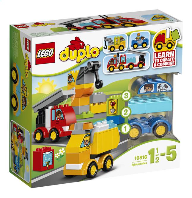 Afbeelding van LEGO DUPLO 10816 Mijn eerste voertuigen from ColliShop