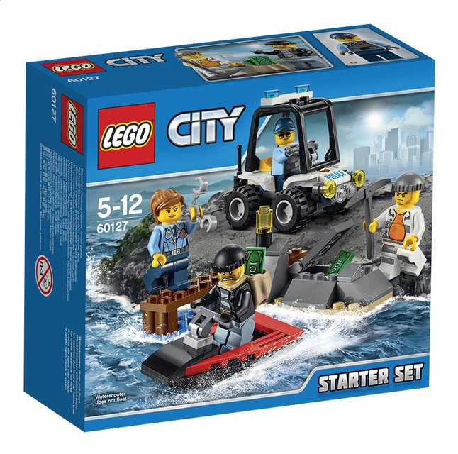 Afbeelding van LEGO City 60127 Gevangeniseiland starterset from ColliShop