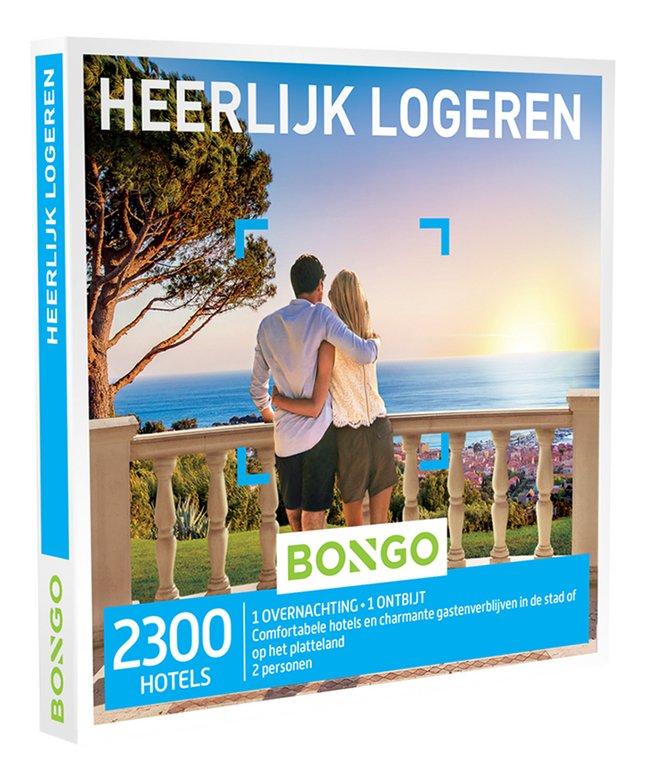 Afbeelding van Bongo cadeaubon Heerlijk Logeren from ColliShop