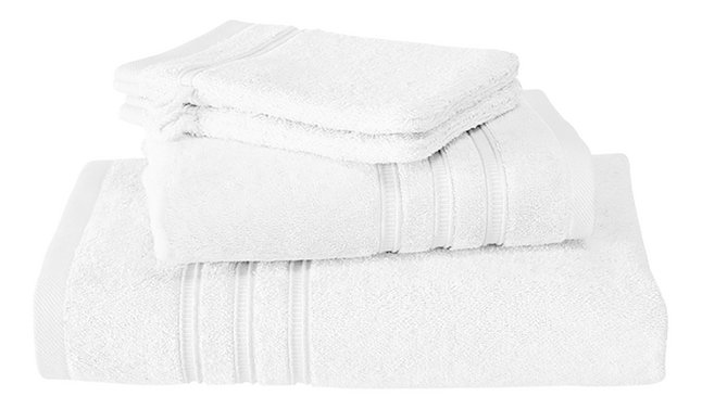 De Witte Lietaer Set de serviettes 4 pièces Dolce white