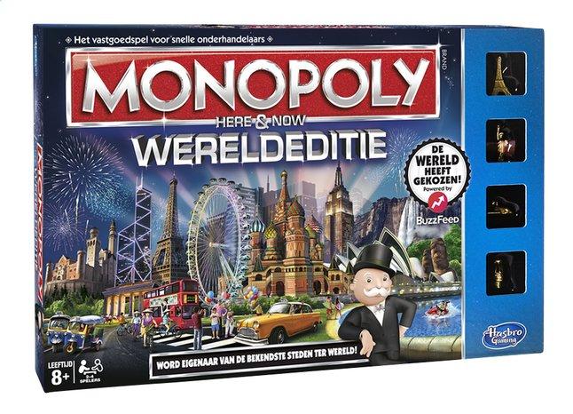 Afbeelding van Monopoly Wereldeditie from ColliShop