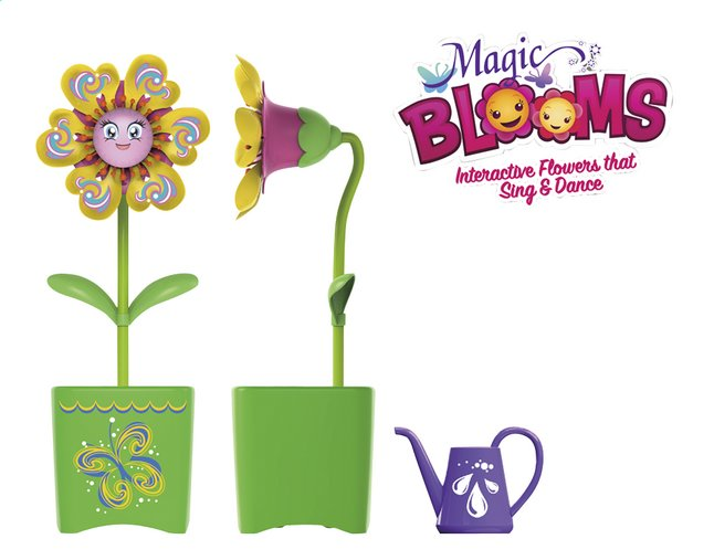 Afbeelding van Silverlit Magic BLOOMS Single Flower groen from ColliShop