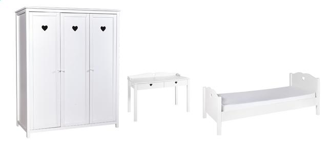 Afbeelding van 3-delige kamer Amori met 3-deurskast from ColliShop