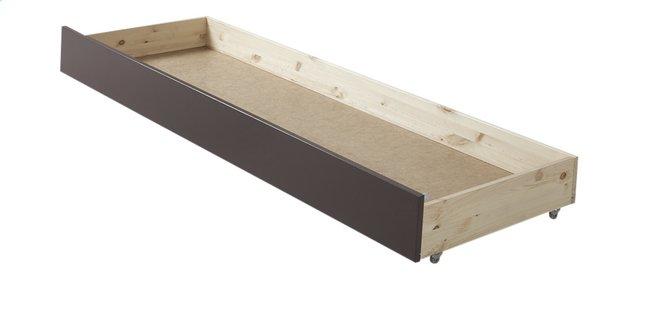 Image pour Tiroir de rangement/lit d'appoint lit-banquette Pino taupe à partir de ColliShop