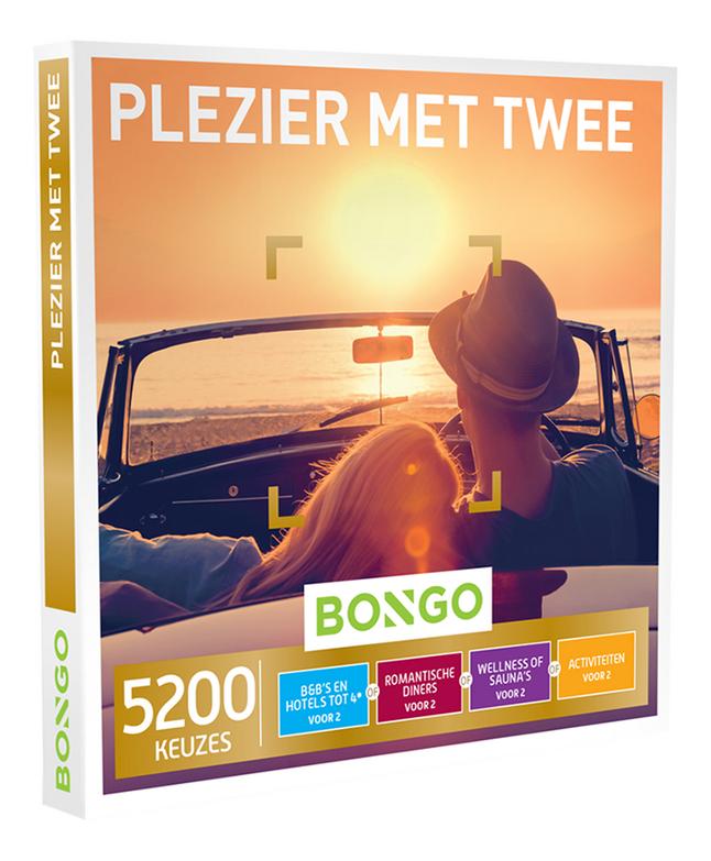 Bongo cadeaubon Plezier met Twee
