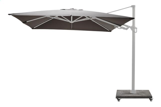Image pour Ocean parasol suspendu Bahia aluminium 3 x 3 m Charcoal/blanc à partir de ColliShop