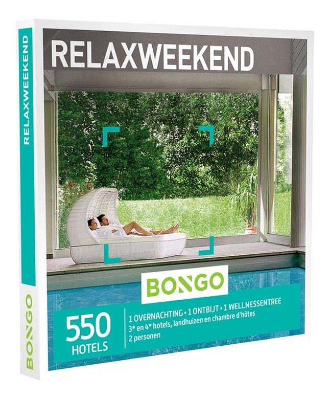 Afbeelding van Bongo cadeaubon Relaxweekend from ColliShop