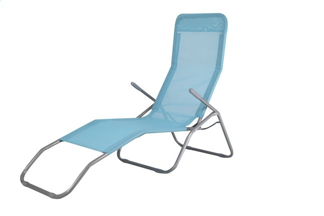 Afbeelding van Relaxzetel Lazy Lounger Siesta Beach blauw from ColliShop