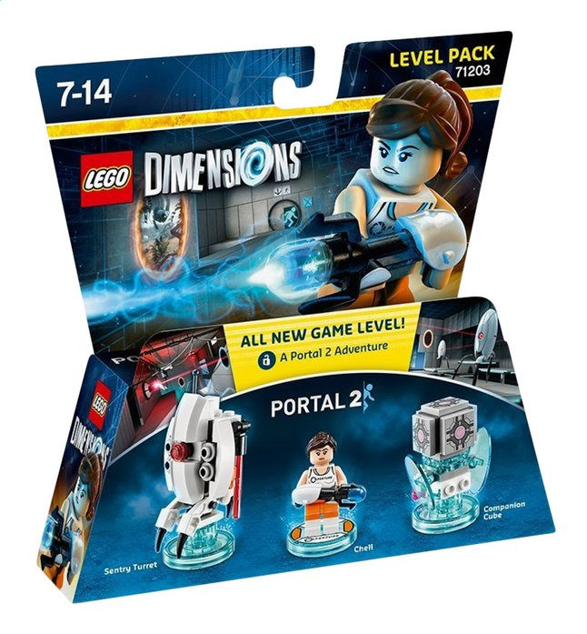 Image pour LEGO Dimensions figurine Level Pack 71203 Portal 2 à partir de ColliShop