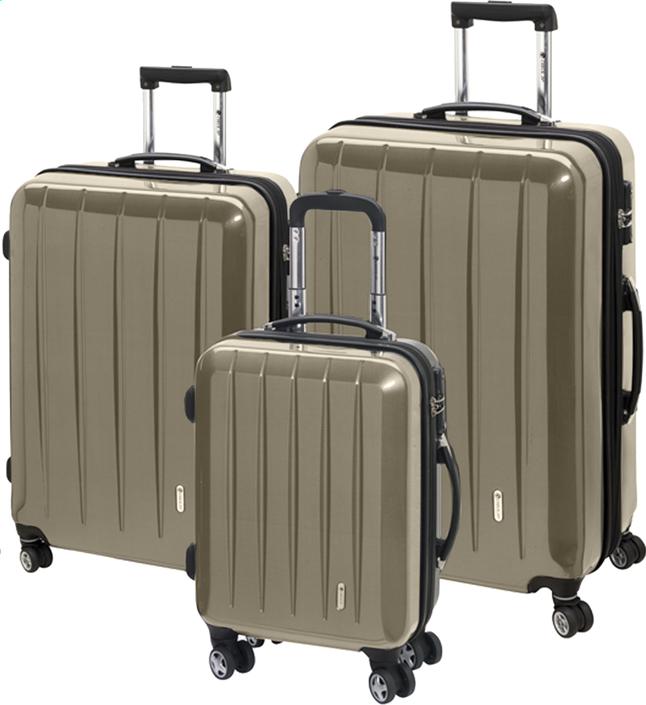 Image pour Check.In Set de valises rigides London Special Spinner champagne à partir de ColliShop