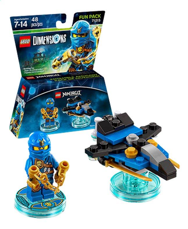 Afbeelding van LEGO Dimensions figuur Fun Pack Ninjago 71215 Jay from ColliShop